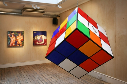 "Invader ""Low Fidelity"" Exhibition @ Lazarides Gallery"