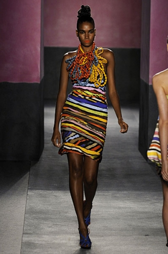 Africa-inspired prints are trendy again (love Paul Smith's)