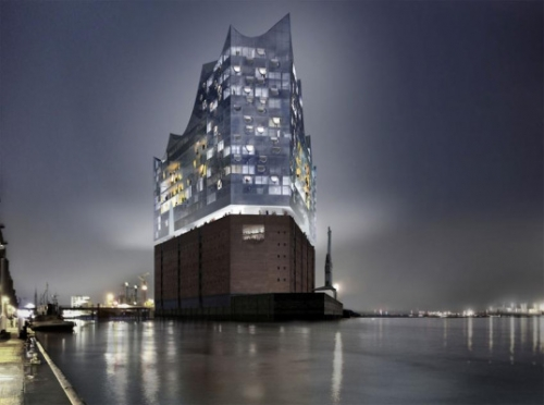 Hamburg Philharmonic concert hall by Herzog + de Meuron - House Design ,Architecture, and Interior D