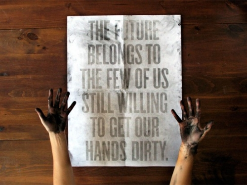 Dirt Poster on Fubiz™