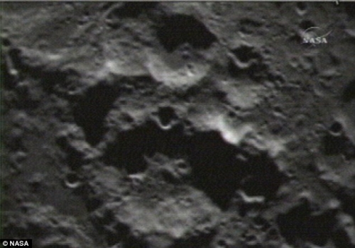 Nasa bombs the Moon creating new dimple...