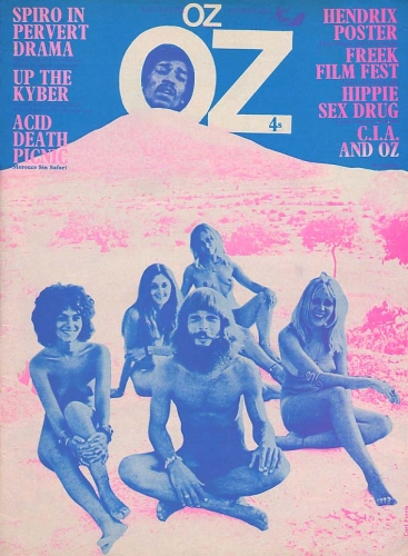 OZ magazine cover 1970