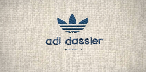 Noisy Decent Graphics: adidas original logo
