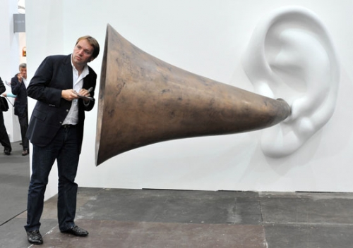 Frieze art fair: Beethoven's Trumpet