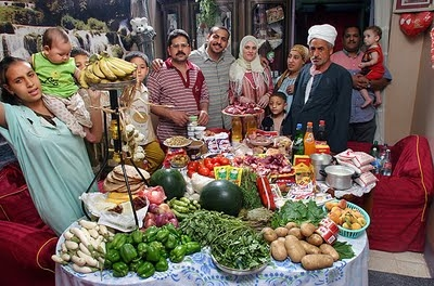 What we eat in Egypt