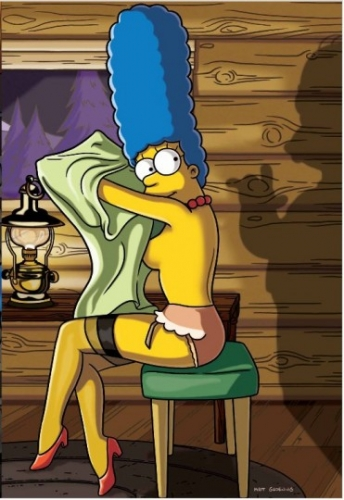 Marge Simpson for Playboy