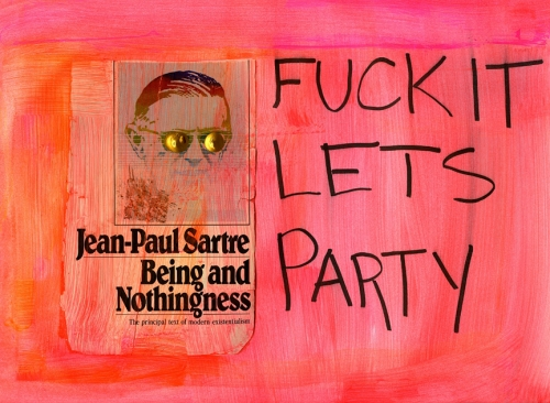 sam falls: sartre being and nothingness