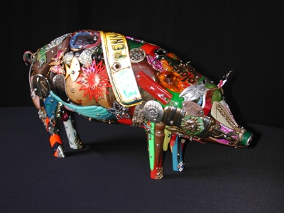 Leo Sewell - Junk Sculptor / Recycled Art / Assemblages