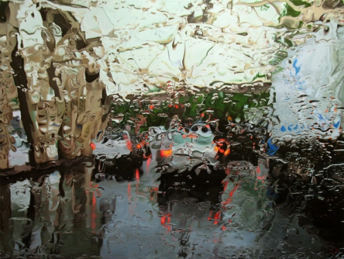 On a Rainy Day...Gregory Thielker's Paintings