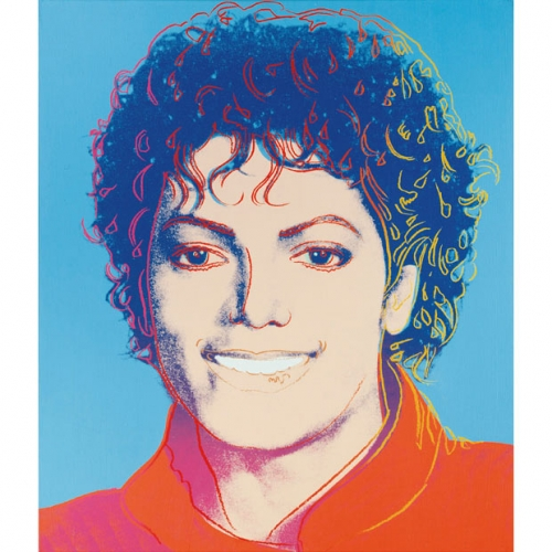 A portrait of Michael Jackson by Andy Warhol is to be sold at auction in New York