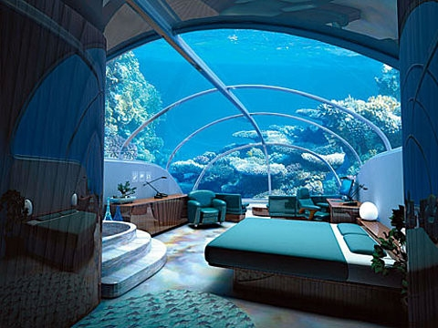 good room in the sea