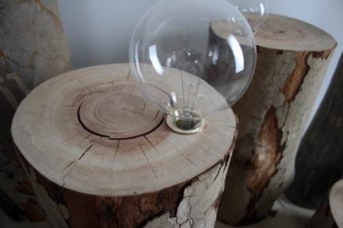 Stumped Lamps by egg collective
