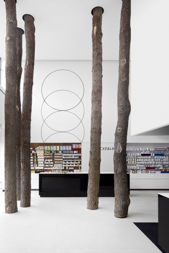 Okinaha Store Interior by Coast and As-Built Architect