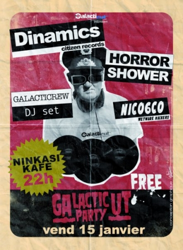 Galacticut Party le 15 janvier