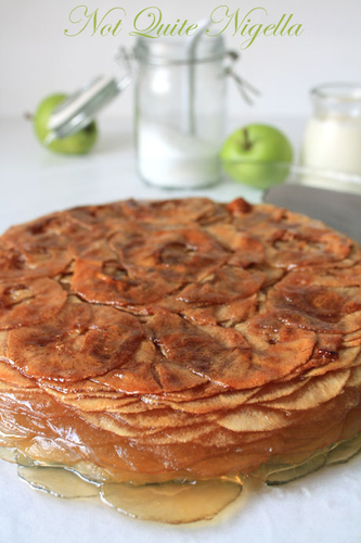 Apple Cake Recipe Thousand Layered Apple Cake