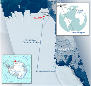 Alfred Wegener Institute for Polar and Marine Research (AWI) PALAOA - Livestream