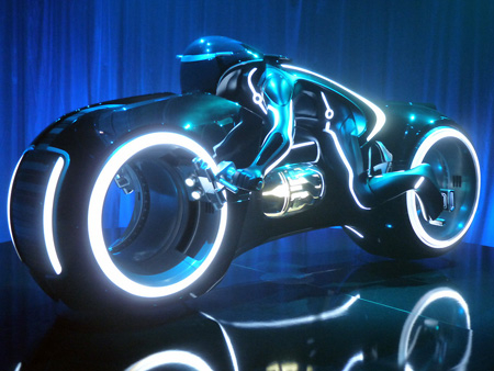 Real-Life TRON Light Cycle