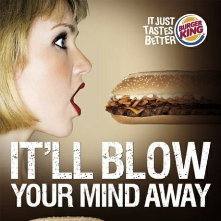 Burger King Blows