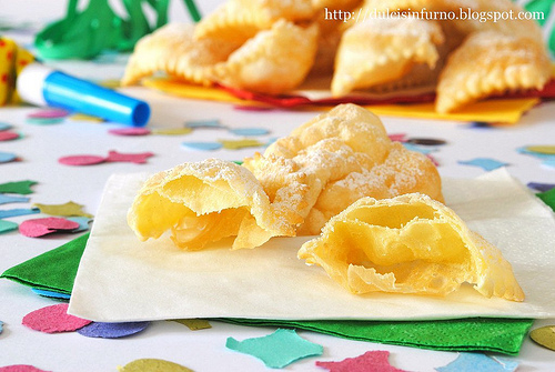 Chiacchiere, made in Italy