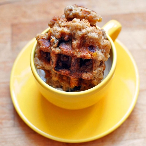 Recipe: Waffled dried fruit dipping cookies [The Rustic Kitchen] @kweepfood