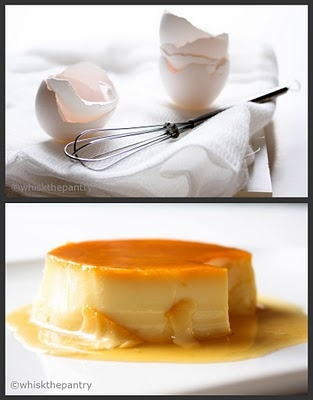 whisk the pantry: Chocolate Malted Whopper Drops & Caramel-topped Flan