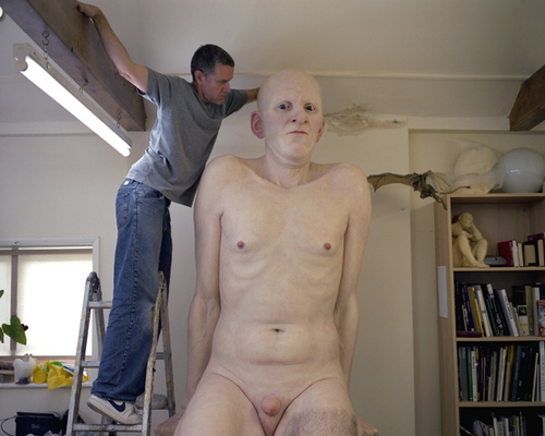 "Sculpture  de Ron Mueck: ""Boy"""