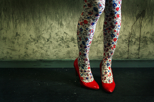 Red Girl shoes