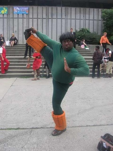 Green Kung Fu Fighter