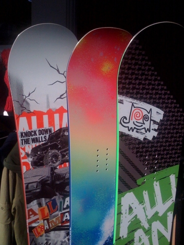 #snowboard #board #allian