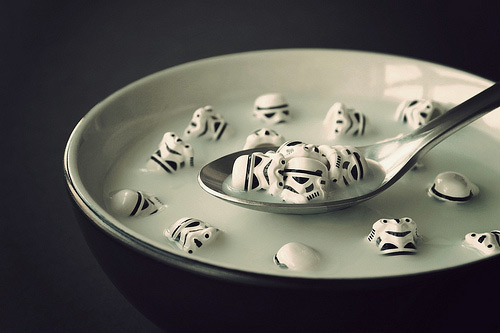 Storm troopers soup