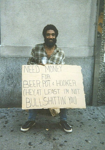 Honesty #homeless
