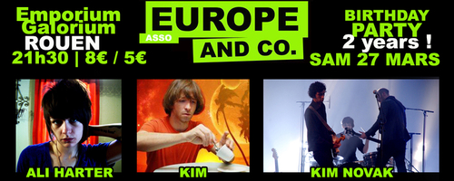 Europe and Co | asso sur MySpace Music