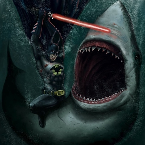 The Most Self-Explanatory Painting In Human History - Batman