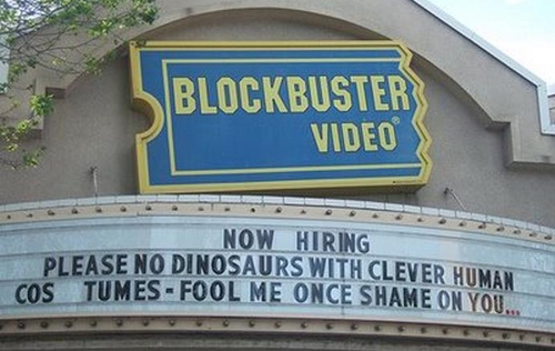 Unreality - The End of Blockbuster Video  