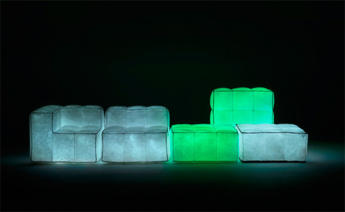 Via Lattea Glowing Air-filled Furniture