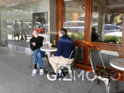 Steve Jobs and Eric Schmidt Spotted Together Again: Photos