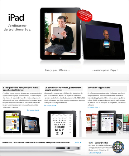 iPad - Mac4Ever - 1er Avril. Affiliation ++