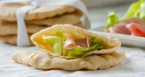 Homemade Pita Pockets