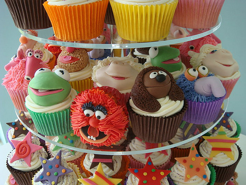 MUPPET CUPCAKES!!!