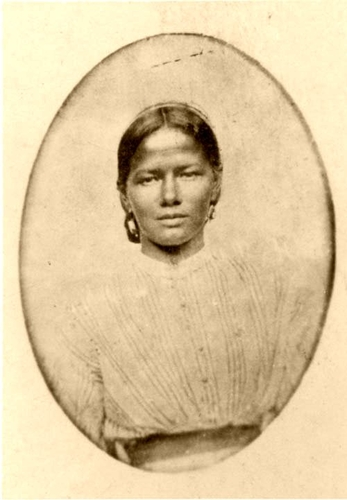 Nanny Smith 1900 of African and American Indian descent