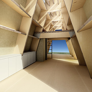 Paper buildings could become recyclable housing