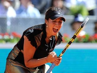 Madrid: Immense exploit pour Aravane Rezai qui domine Venus Williams en finale (6/2-7/5)