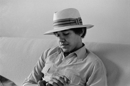 Barack Hussein Obama Rare Young Photos