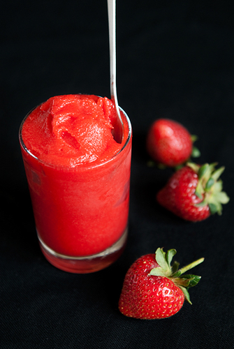strawberry sorbet recipe