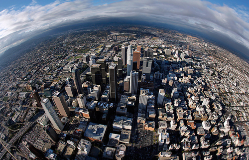 Photos: View from the Goodyear blimp