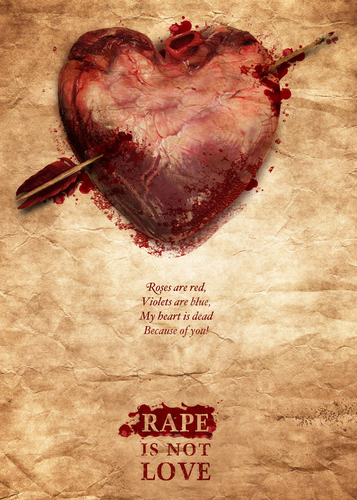 Rape is not love : Campagne de lutte contre le viol