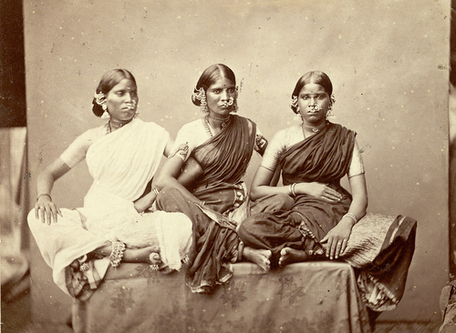dancing girls from Madras