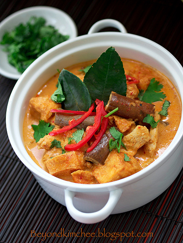 Thai Red Chicken Curry, Sawadtee Kaa!.