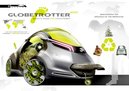 GM Globetrotter – An Eco-friendly Futuristic Car Of 2017