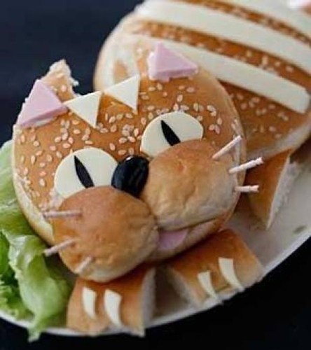 Photo nourriture : Chat-Burger